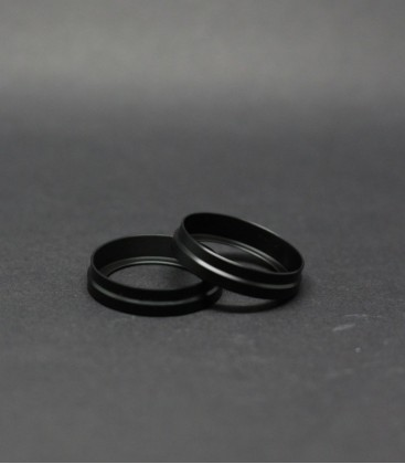 Beauty Ring Delrin Black 22-24mm Flave 22