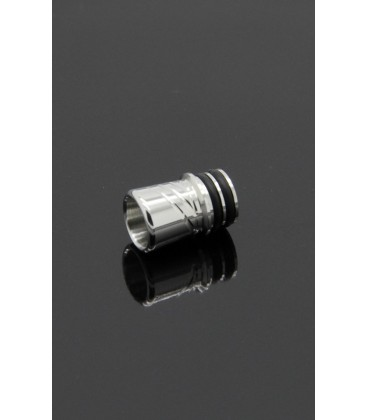 Drip Tip Si-7 Shorty Inox 316L - Alliancetech Vapor