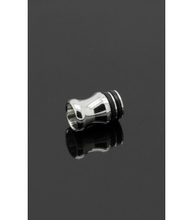 Drip Tip Si-8 Shorty Inox 316L - Alliancetech Vapor